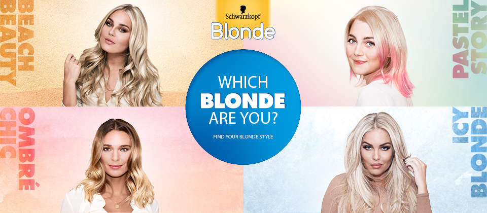 Which blond are you?